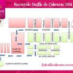 Trayectos del Desfile de HOY #FestivalDeCalaveras aqui la información.La cita es 8.00 pm http://t.co/GtVluSHoCM RT http://t.co/8rB5VD5xiK