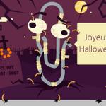 Plus affamé que les walkers de #WalkingDead, Clippy sort de la tombe pour fêter #Halloween ! #zombie http://t.co/1FB2NHpNQT