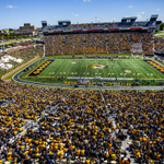 At kickoff in Columbia, MO, the forecast is 48 degrees, 0% chance of rain, & winds out of the ESE at 3mph. http://t.co/5q32BAHTAO
