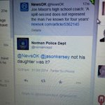 Norman Police Departments official Twitter account, on Joe Mixon in a since-deleted tweet. Wow. http://t.co/sllQSYlN01