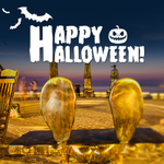 Happy Halloween! See you at the Malecon tonight! #PuertoVallarta #TrickOrTreat #Annabelle http://t.co/byxxY0OC4N