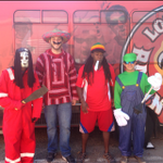 Happy Halloween from the UL Transportation crew! Stay safe #UL #Friday #Homecoming #Weekend http://t.co/ffCuFM5uiI