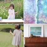 الطفلة آيرس لاتجيد الحديث وتفضّل العزلة لمعاناتها من مرض التوحد عزلتها ساهمت بصنع لوحات تشكيلية باتت مطلب عند الناس! http://t.co/XMvUaTgiGW