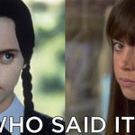 Wednesday Addams or April Ludgate? http://t.co/DGJXtbbEic http://t.co/hoo7nLLiC3
