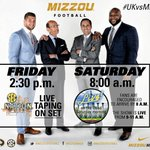 #SECNation reminder, #Mizzou fans! On campus at 2:30 today? Stop by The Quad! And bright & early at 8 a.m. tomorrow! http://t.co/0c0m2bWtCI