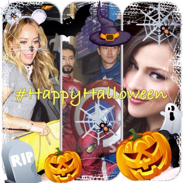 Happy Halloween my loves @daniela__duff @KiStw_ @Lucee_Chavez @issmeejb @Sophbrun ‼️