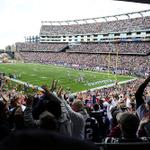 How to enter to win 2 50-yd line tix for Sundays game: 1) Follow @Patriots 2) RT this tweet http://t.co/xnLnAKc4a7 http://t.co/DAovvtotNW