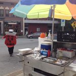 The Kool-Aid man is serving up dogs in downtown #Asheville. #halloween http://t.co/gVeZ7G2iEG