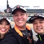 No ones raining on our #SFGParade today! Thanks for tweeting w/ our staff this season, #SFGSocial. #SFGIANTS http://t.co/YlOP17rAz8