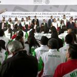 #EnVivo: Abanderamiento de la Delegación Mexicana que participará en los @JVeracruz2014 http://t.co/gd2wMT9kK9 http://t.co/RvBcXLeUHQ