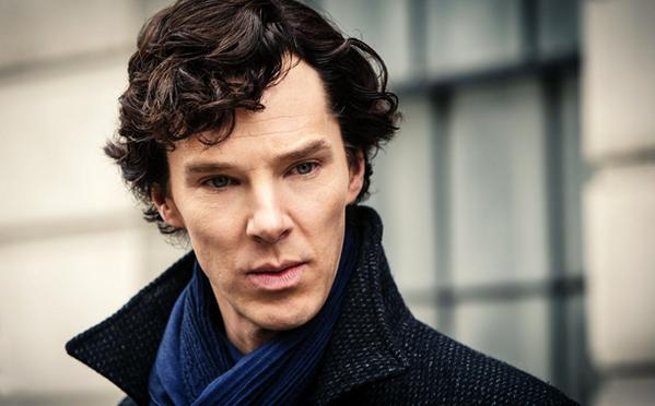So, this happened—Benedict Cumberbatch says that Sherlock Holmes is pretty great at sex: