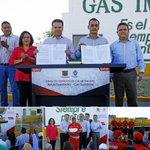 Firman convenio Municipio y Gas Imperial http://t.co/ZhxLSR3k42 http://t.co/PlkOQsfEI1