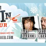 @snowedincomedy in #Nanaimo Jan 13, tix on sale now! Feat @arjbarker, @comicdanquinn, Craig Campbell & Paul Myrehaug http://t.co/wraLqdYBXW