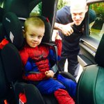 Martin #Skrtel with son dressed for Halloween. Skrtel is so hard, he doesnt need a costume. ;) http://t.co/NitSNkua1A