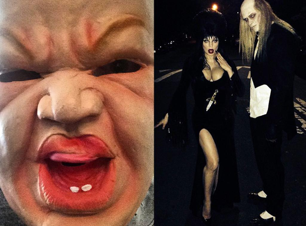 BOO! See Miley Cyrus' creepy baby mask & more celebs' scariest Halloween moments: