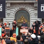 """The Kansas City Royals. They are OUTTTTTA HERRRRE!"" - Kuip. #SFGParade #SFGiants http://t.co/wGA4opMDkX"