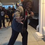 Its two-time Heisman winner Archie! For Football Friday, Archie is dressed as himself in 1974-75. http://t.co/e4YmOn1qxD