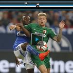 Schalke - Augsburg 1:0! Draxler-K.o. nach 11 Sekunden. Das Spielvideo gibts hier! http://t.co/DOwxjoluPc http://t.co/EAmESUXs55