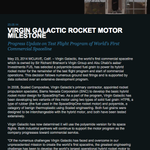 Why does Virgin Galactic shutting down its website matter? Because you cant see past news releases like this one. http://t.co/hw4Xh5ismf