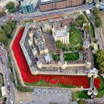 The field of poppies at the Tower of London. See details of our two WW1 walks at our website http://t.co/B5uJC3Q3Fd http://t.co/5HGtIzHpoM