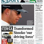 Saturdays Journal back page: Transformed Sissoko is #nufcs driving force / Poyet: I need a witch #safc http://t.co/2lyCkrzCag