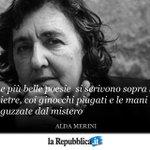 1 novembre 2009: scompare la poetessa Alda Merini #AccaddeOggi http://t.co/DoNSHGy3AB