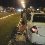 As pessoas saíram do carro e sentaram ao lado @belemtransito  na Br 316 http://t.co/E9auAyRoYu