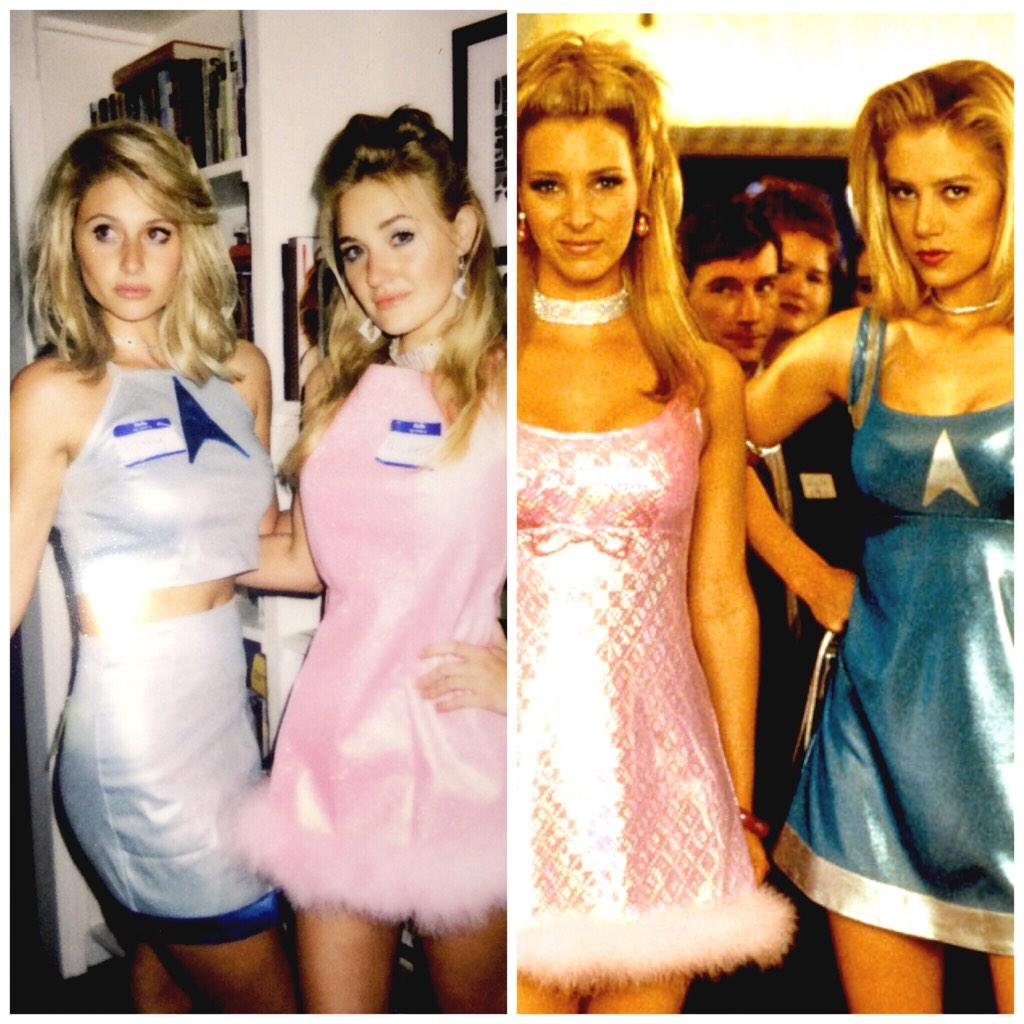 aly aj as romy and michele - Romy And Michelle Halloween Costumes