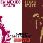 Tomorrow in Las Cruces  @TXSTATEFOOTBALL vs. @FootballNMSU on @ESPN3 http://t.co/66bN5GtnlQ