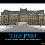 "Ooo. Hes gonna just love this one. ""@stephenlautens: @Pam_Palmater @goingprorogue ""The PMO"" #cdnpoli http://t.co/6mZuSTZV0r"""