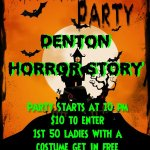 #QNTMasQUErade is now #DentonHorrorStory same place and time http://t.co/6jrzc6BkDK