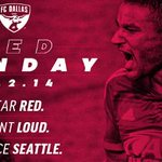 #RedSunday means were declaring EVERYONE coming to @ToyotaStadiumTX on Sunday needs to wear red. No exceptions. http://t.co/JxMnYxKLFi