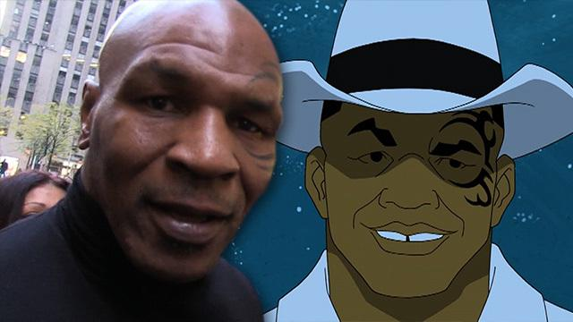 Mike Tyson is a CRIME FIGHTER... in cartoons