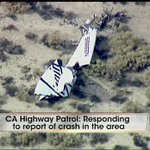1 dead, 1 injured after Virgin Galactic #SpaceShipTwo crashes in Mojave Desert. http://t.co/RsRpE6xuTd