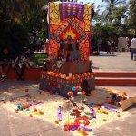 Concurso de Altares de Muertos en el @CUCosta #DiaDeMuertos http://t.co/Wo6vQSJmtE