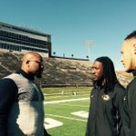Cool #SECNation piece will air tomorrow. #Mizzou's #GoldenRay duo (Markus & @X_RAYted56) talk w/ @mspear96 on Faurot. http://t.co/Ecyb9VYXqj