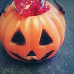 Happy Halloween from UT Tyler! #candy #uttyler #SwoopSwoop #TrickOrTreating #pumpkinbaskets http://t.co/E3TLe0Bs5w