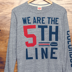 #WeAreThe5thLine long sleeve is back in action! http://t.co/YQGn1U87zo #CBJ @TheCBJArtillery http://t.co/7pEu0N28SG
