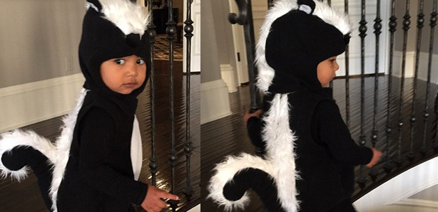Kim Kardashian shares adorable photo of North West's Halloween costume