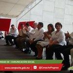 Gobernador @ferortegab y Secretario @SCT_mx @gruizesp presiden acto de entrega de Infraestructura Carretera #Campeche http://t.co/aZVnKsgDnl