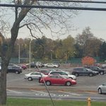 Terrible photo #sorry, but in the distance is Pittsford practice for Saturdays game http://t.co/hmT4gBTYFU