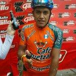 Jhothan de Leon ganador de la etapa http://t.co/d5bViIVzBF