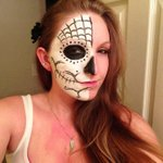 Proof that Day Of The Dead costumes are the coolest costumes this side of the afterworld. http://t.co/uwGYRvdHd0 http://t.co/WKOgc4SFyw