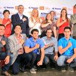 Hoy todos juntos le decimos a Paraguay #PoneleCorazón con @TeletonParaguay http://t.co/hk1kh5c4Te