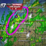 4:00 PM -- Trick-or-Treating about to start. Dry(ish) for most but soggy in Berrien / LaPorte Co. http://t.co/BdkE7gFRA1