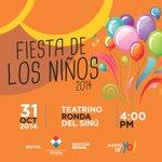 Celebra hoy con tus niños en el teatrino de la Ronda del Sinú a las 04 : 00 pm. #Montería @monterialcaldia http://t.co/eBqkIfsQ46