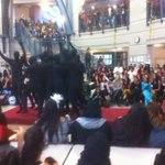 Happy Halloween Crusaders!  Lunch time fashion show.  Thanks for keeping it classy Cambie!  Props to stuco!!! http://t.co/uAHZ0bohGv