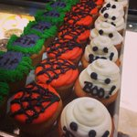 Happy #Halloween! Stop in today for one of our themed #cupcakes! #sweeties #bakery #harlem #nyc http://t.co/hmyzxrt3Mc