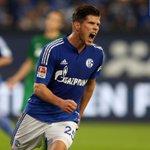 #Uchidas Vorarbeit und @KJ_Huntelaars Abschluss bringen #Schalke zur Pause mit 1:0 in Front. #S04FCA http://t.co/28ZMNmj9Mr