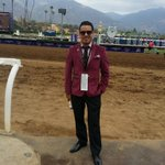 #GetHotStayHot MT @ABRLive: Our own @LosPonies looking quite dapper #BC14 Friday @SantaAnitaPark by @FashionStork. http://t.co/U2rId7DVlI